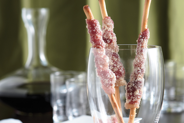 Bacon-Wrapped Breadsticks Image 1