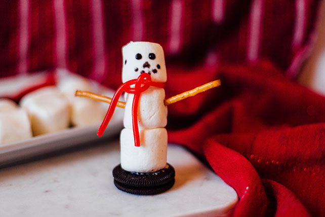 JET-PUFFED Snowman Marshmallows