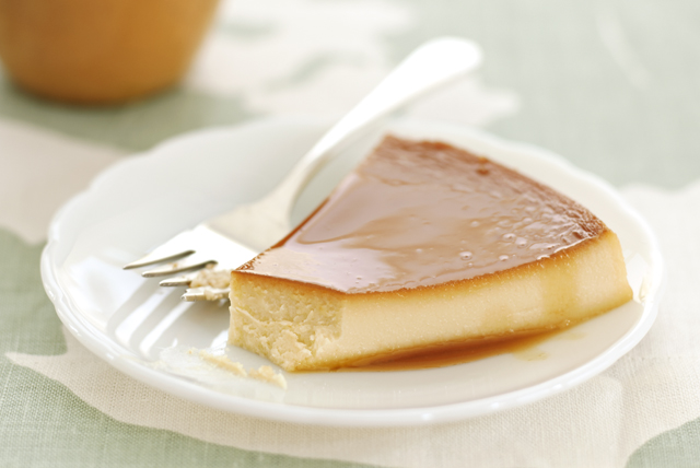 Flan with Pineapple-Cream Cheese Image 1