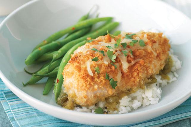 Pollo crujiente en salsa verde Image 1
