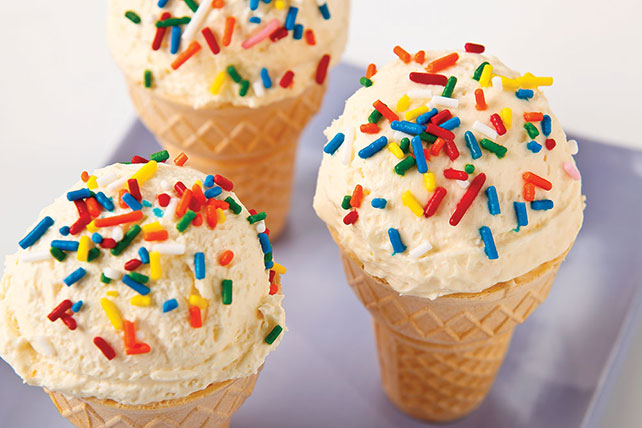 Quick Cheesecake Cones Image 1