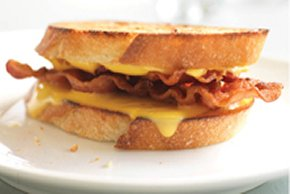 Zippy Grilled Cheese & Bacon Sandwich