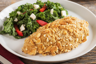 Almond-Crusted Chicken Dijon