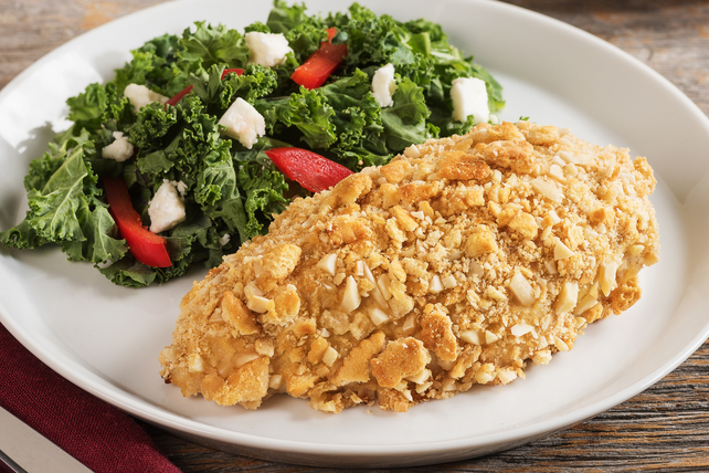 Almond-Crusted Chicken Dijon Image 1