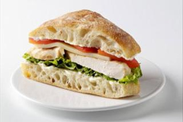 Chicken on Ciabatta for Two
