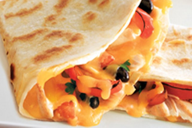Cheesy Fajita Quesadillas Image 1