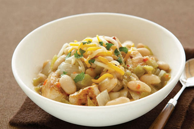Southwestern White Chicken Chili Recipe Image 1