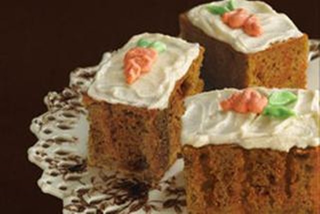 Gâteau aux carottes à trous Image 1
