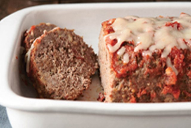 Easy Italian Meatloaf Image 1
