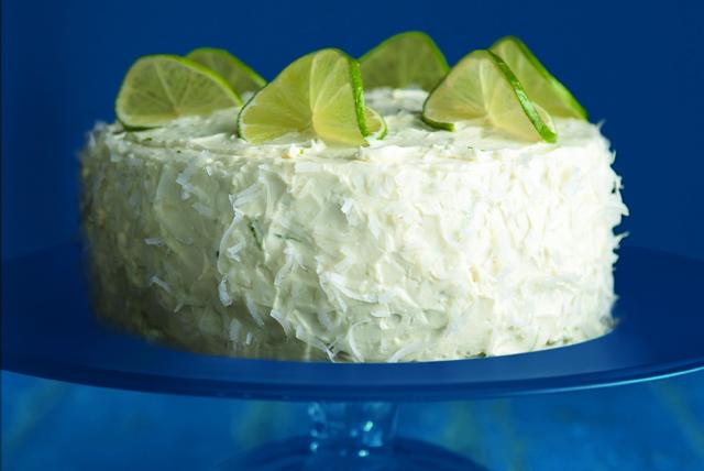 Pastel de limón y coco Image 1