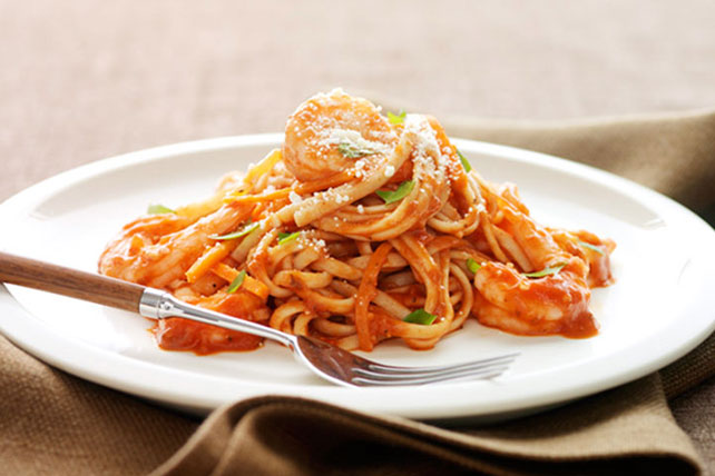 Garlic-Shrimp Linguine Image 1