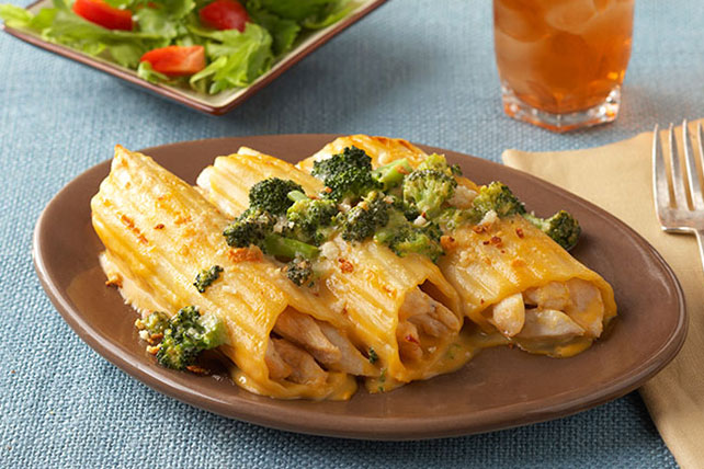 Shortcut Chicken Manicotti Recipe