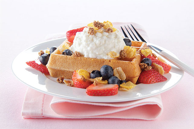 Blueberry-Strawberry Breakfast Shortcake Image 1