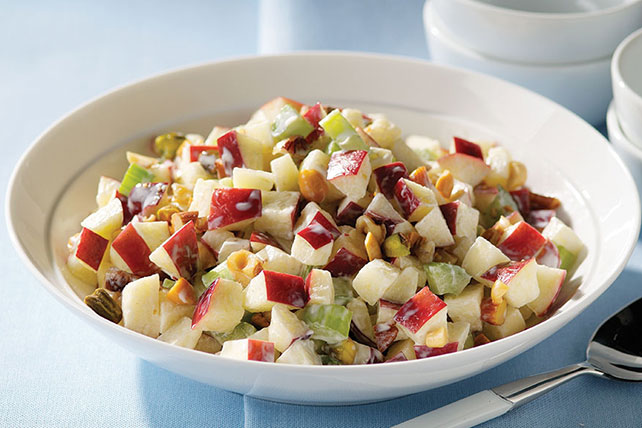Mixed Nut Waldorf Salad