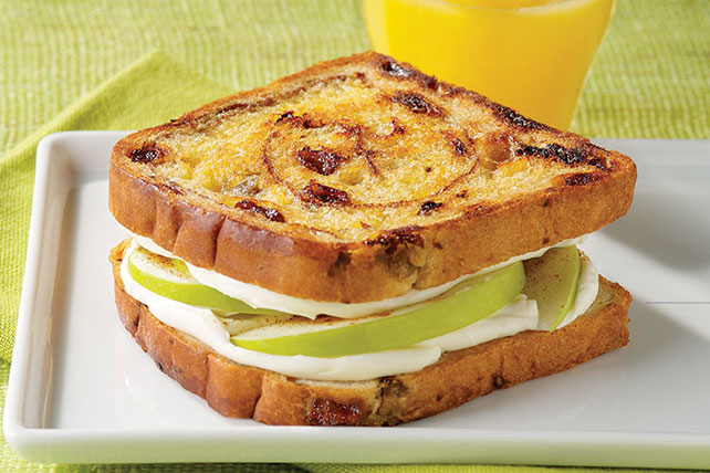 Cinnamon-Apple Morning Sandwich Image 1