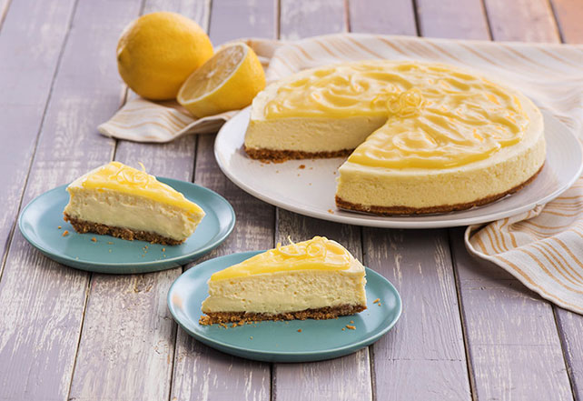 Lemon Curd-Topped Cheesecake Image 1