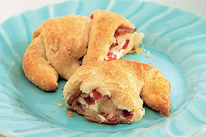 Bacon, Cheese & Tomato Crescents