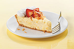Strawberry-Pina Colada Pie Image 1