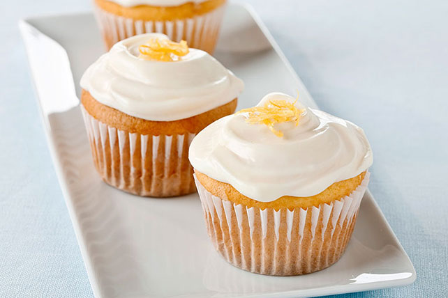 Lemon-Cream Cheese Cupcakes Image 1