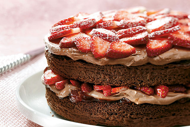 Double-Chocolate Strawberry Shortcake Image 1