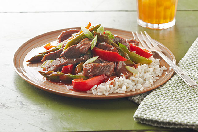 Saucy Pepper Steak Recipe Image 1