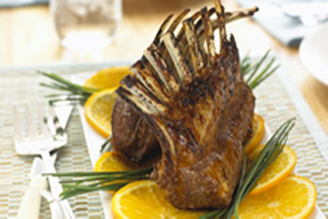 Mandarin-Glazed Rack of Lamb Image 1