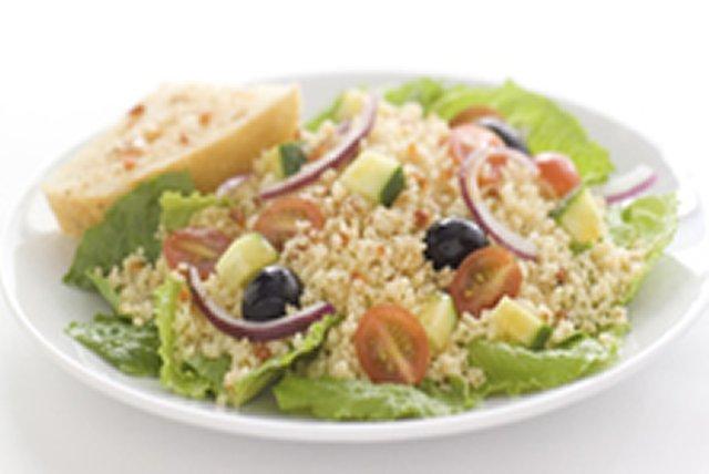 Salade de couscous à la méditerranéenne Image 1