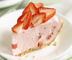 JELL-O Fruity Strawberry Pie