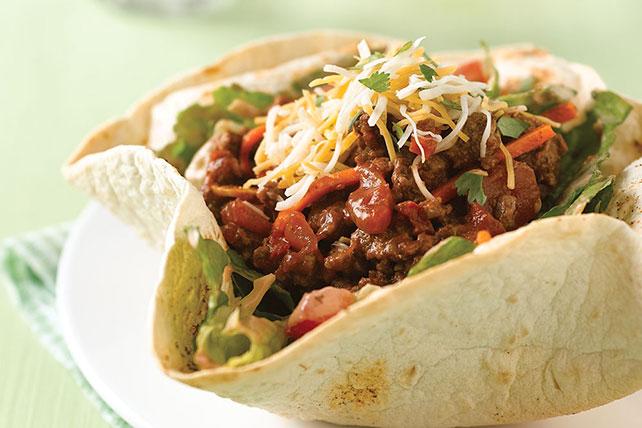 Ensalada en canastitas de tacos Image 1