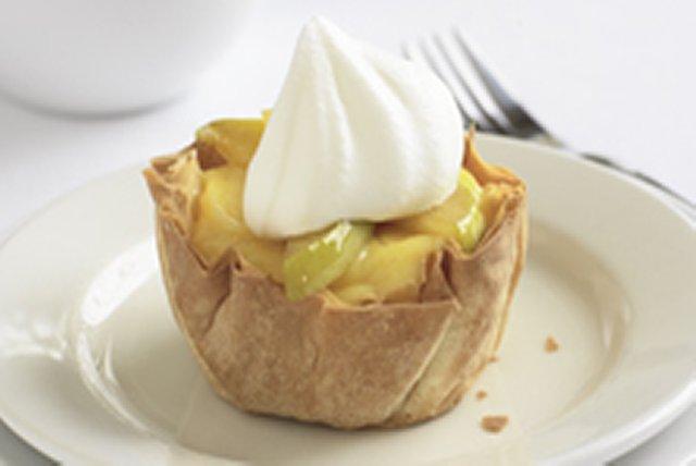 Croustillants pomme-vanille à la pâte filo Image 1