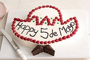 Cinco de Mayo Sombrero Cake