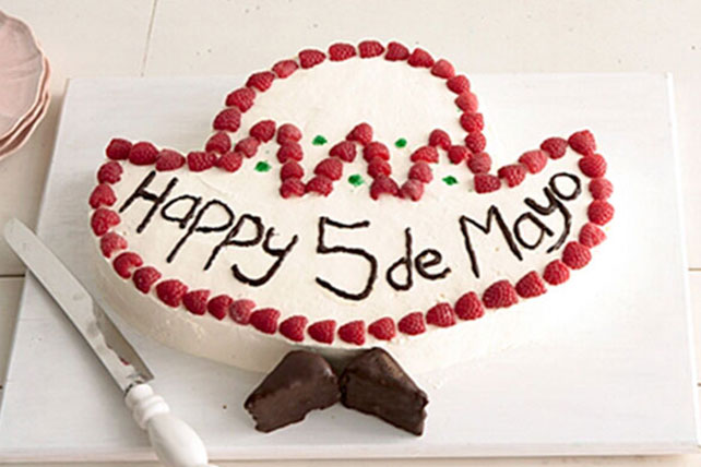 Cinco de Mayo Sombrero Cake Image 1