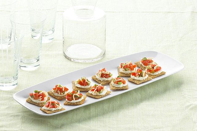 Bocadillos de galletas estilo bruschetta Image 1