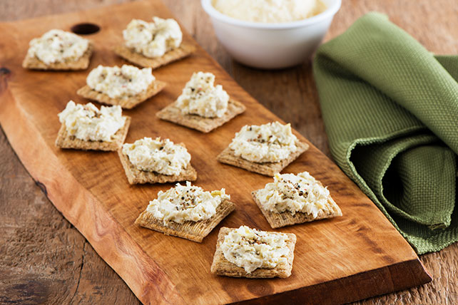 Cheesy Artichoke Appetizers Image 1