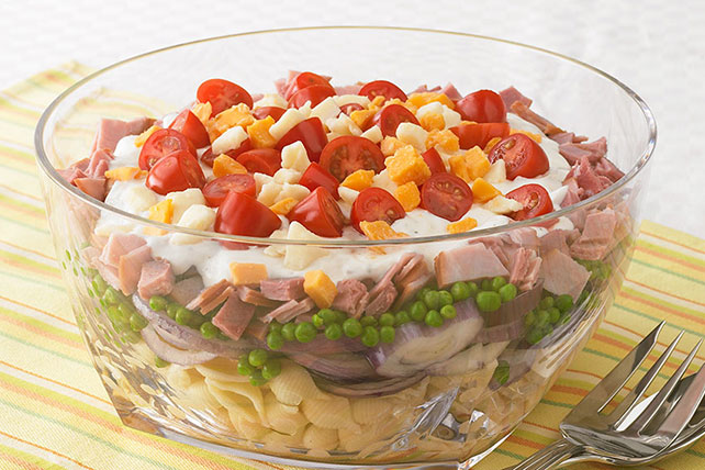 Layered Pasta Salad Image 1