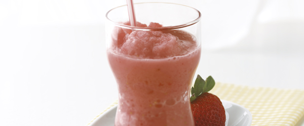 Double-Strawberry Smoothie