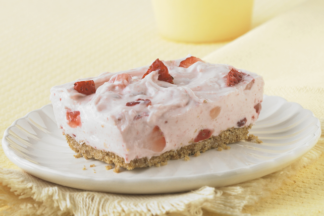 PHILADELPHIA Strawberry Fields No-Bake Cheesecake Image 1