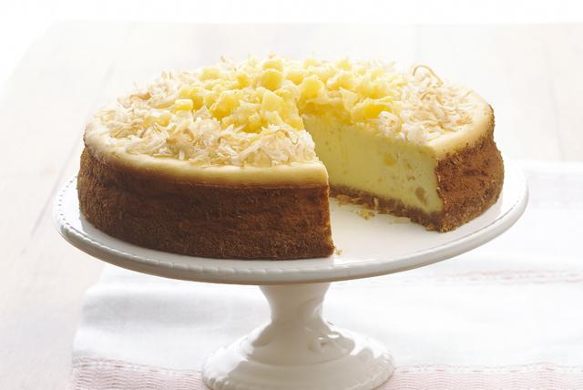 Cheesecake de piña colada Image 1
