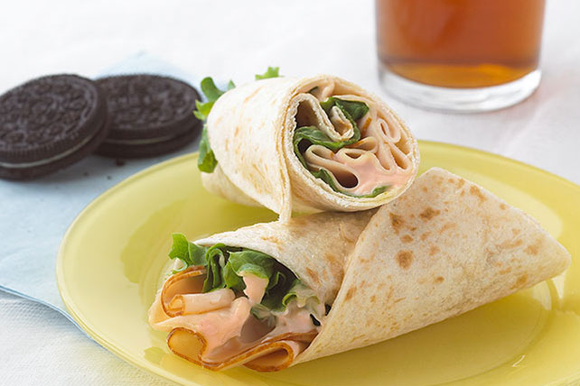 Buffalo Chicken Wrap Sandwich Image 1