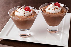 Chocolate-Irish Cream Mousse Image 1