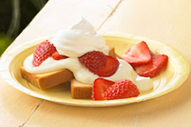 2-Step Strawberry Shortcake