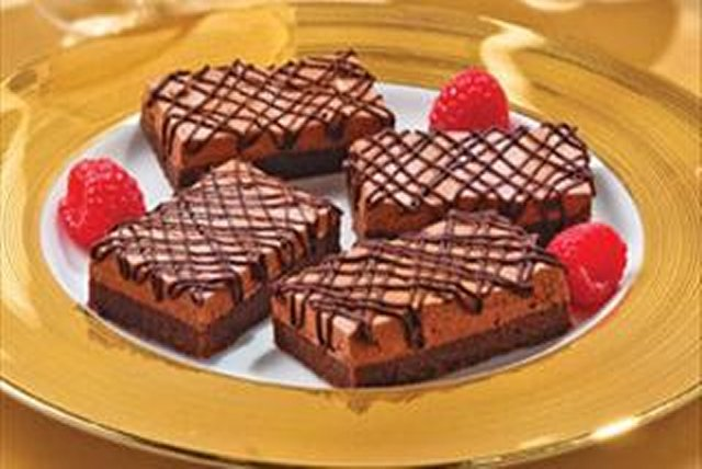 Chocolate Truffle Mousse Bars Image 1