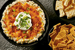 "Loaded ""Baked Potato"" Dip"