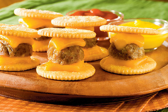 Mini Cheeseburger Bites Image 1