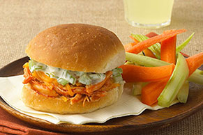 Buffalo Chicken Party Sandwiches
