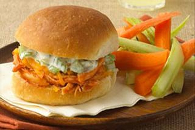 Buffalo Chicken Party Sandwiches Image 1