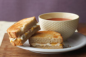 Spicy Grilled Cheese & Tomato Soup Combo