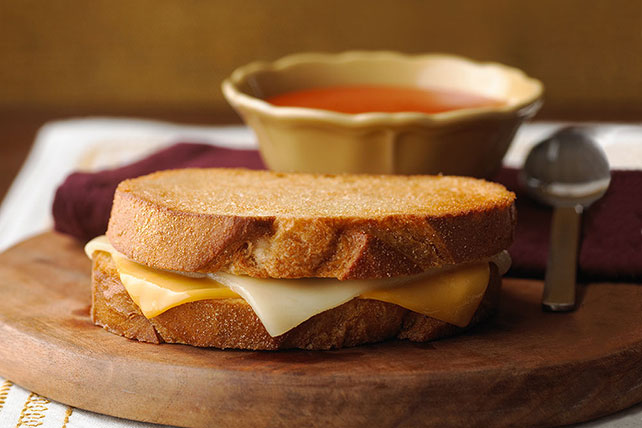 Two Cheese Grilled Cheese