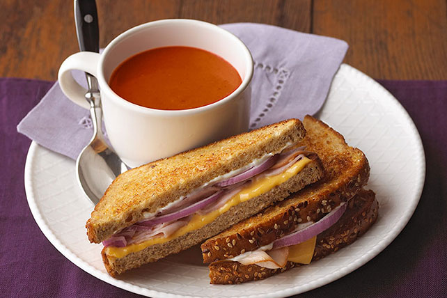 Hearty Grilled Cheese Recipe Image 1