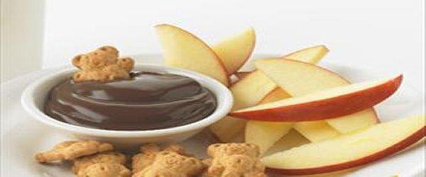 """Dip"" de chocolate en un dos por tres"